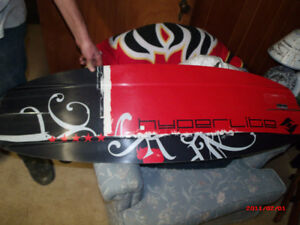 Snow Board with Boots