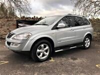 2010 Ssangyong Kyron Automatic Diesel 4x4 2.7 TD | £124 Per Month!