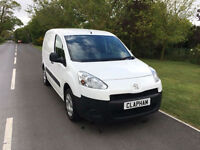 2014 14 PEUGEOT PARTNER NO VAT 1.6 HDI 90 BHP 1 COMPANY OWNER ONLY 59000 MILES