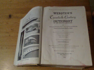 Webster's 1938 Twentieth-Century Dictionary Campbell River Comox Valley Area image 3