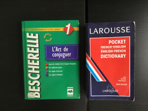 Bescherelle and French /English Dictionary