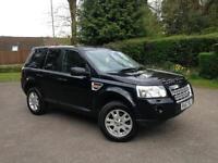 2008 Land Rover Freelander 2 XS Td4 6 Speed Manual Black