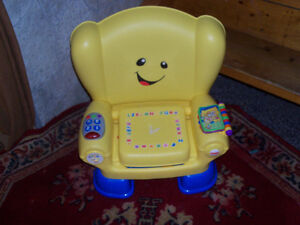 Learn, listen and play chair .. great fun ...