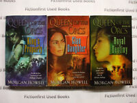 """""""Queen of the Orcs Trilogy"""" by: Morgan Howell"""
