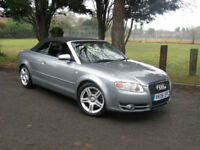 Audi A4 Cabriolet 1.8T Sport Convertible Cabriolet**Low Mileage**FSH**163BHP**