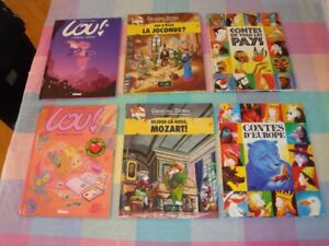 BD, Lou, Sisters, Kid Paddle, Piment, Pirate,  Bone, spirou et+