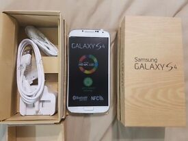 new unlock white samsung galaxy s4