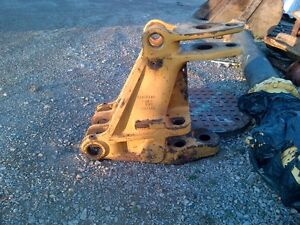 swing frame out of a 420 D cat back hoe