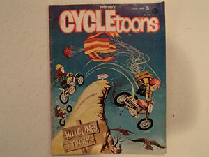 Pedersen's CYCLETOONS Number 3 June 1968. GC RARE