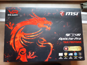 "MSI Apache Pro Gaming Lap Top 17.3"" - Brand New Unopened"