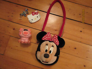 Minie Mouse Purse-Hello Kitty Wallet-Plush Puppy Back Pack West Island Greater Montréal image 1