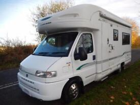 Bessacarr E725 4 Berth Rear U Shaped Lounge Motorhome For Sale