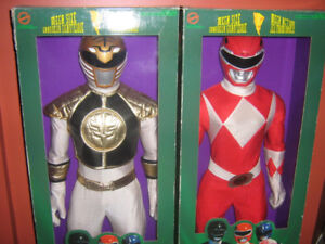 MIGHTY MORPHIN POWER RANGERS 3 FOOT TALL FIGURES