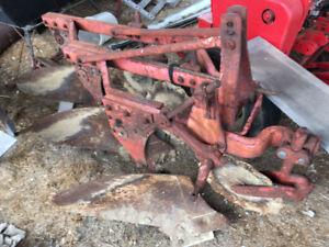 Massey Ferguson model 66 three furrow plow