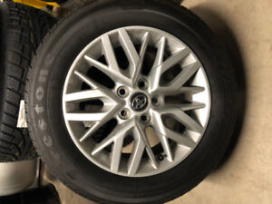 205 / 65R16 Firestone Affinity all season tires on rims for sale