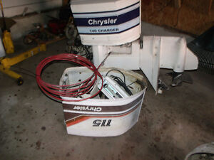135 Chrysler motor and parts