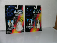 Star Wars Red Card Power of the Force figures