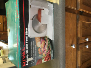Rival electric food slicer for sale