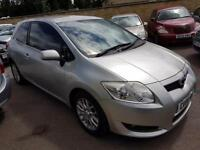 2008 Toyota Auris 1.6 ( 124bhp ) MMT T3- 7 Stamp - 3 Keepers
