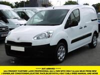 2014 PEUGEOT PARTNER 1.6HDI PROFESSIONAL L1 850 WITH ONLY 50.000 MILES AIR CONDI