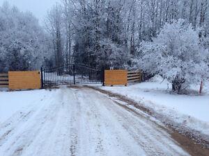 Driveway Cast Iron Gates - GATE OPENERS - Installation Strathcona County Edmonton Area image 5