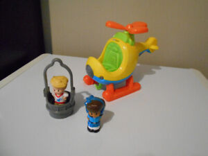 HÉLICOPTÈRE MUSICAL LITTLE PEOPLE FISHER PRICE