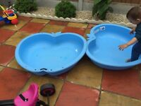 Pool and sand pit