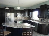 Need Your Cabinets or Railings Refinished ?