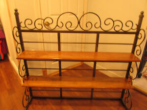PRICE REDUCED !!Decorative shelving unit