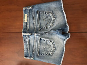 Jean Shorts: AG  Jeans