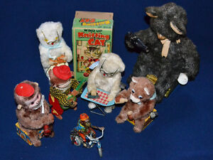 Vintage Wind-up Toys for Sale in Waterloo