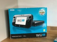 Wii U 32GB and extras (Boxed)