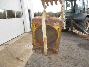 Drott skid steer radiator