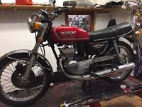 Suzuki gt125 1976 classic 2stroke very rare £2499