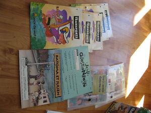 Livres et d'activités de lecture de Jeuxde mots. La série verte. Saint-Hyacinthe Québec image 3