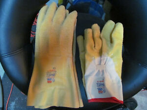 gants jaune protection gloves rubber caoutchou BEST NITTY GRITTY