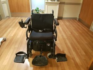 EUC FREESTYLE QUICKIE ELECTRIC WHEELCHAIR