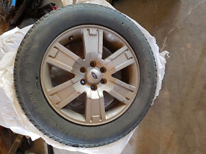 FORD rims with tires included