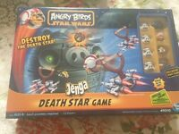 Angry birds Star Wars jenga star game