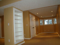 Interior finishing carpentry