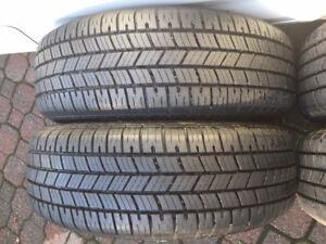4 Uni Royal tires   Virtually NEW