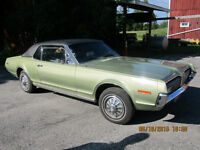 1968 Mercury Cougar X-R7 For Sale