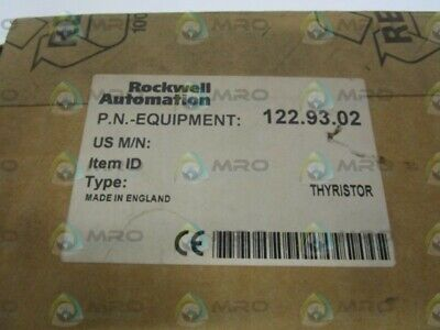 Rockwell Automation 122.93.02 Thyristor New In Box