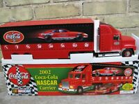 COCA COLA  NASCAR  COLLECTABLE TRUCK FROM 2002