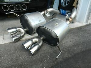 corvette c7 2015 rear exhaust  assembly non NPP