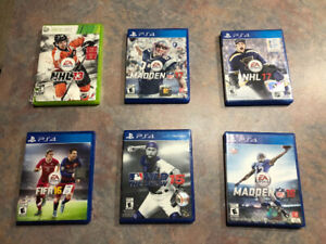 XBOX 360/ Playstation 4 Games