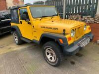 2000 Jeep Wrangler 2.5 Sport 2dr CONVERTIBLE Petrol Manual