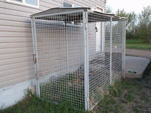 Outdoor dog kennel/run for sale - $200.00