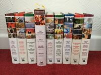 Readers Digest books x 9 with 32 stories