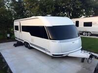 2013 HOBBY 645 VIP PREMIUM - FIXED BED TWIN AXLE TOURING CARAVAN